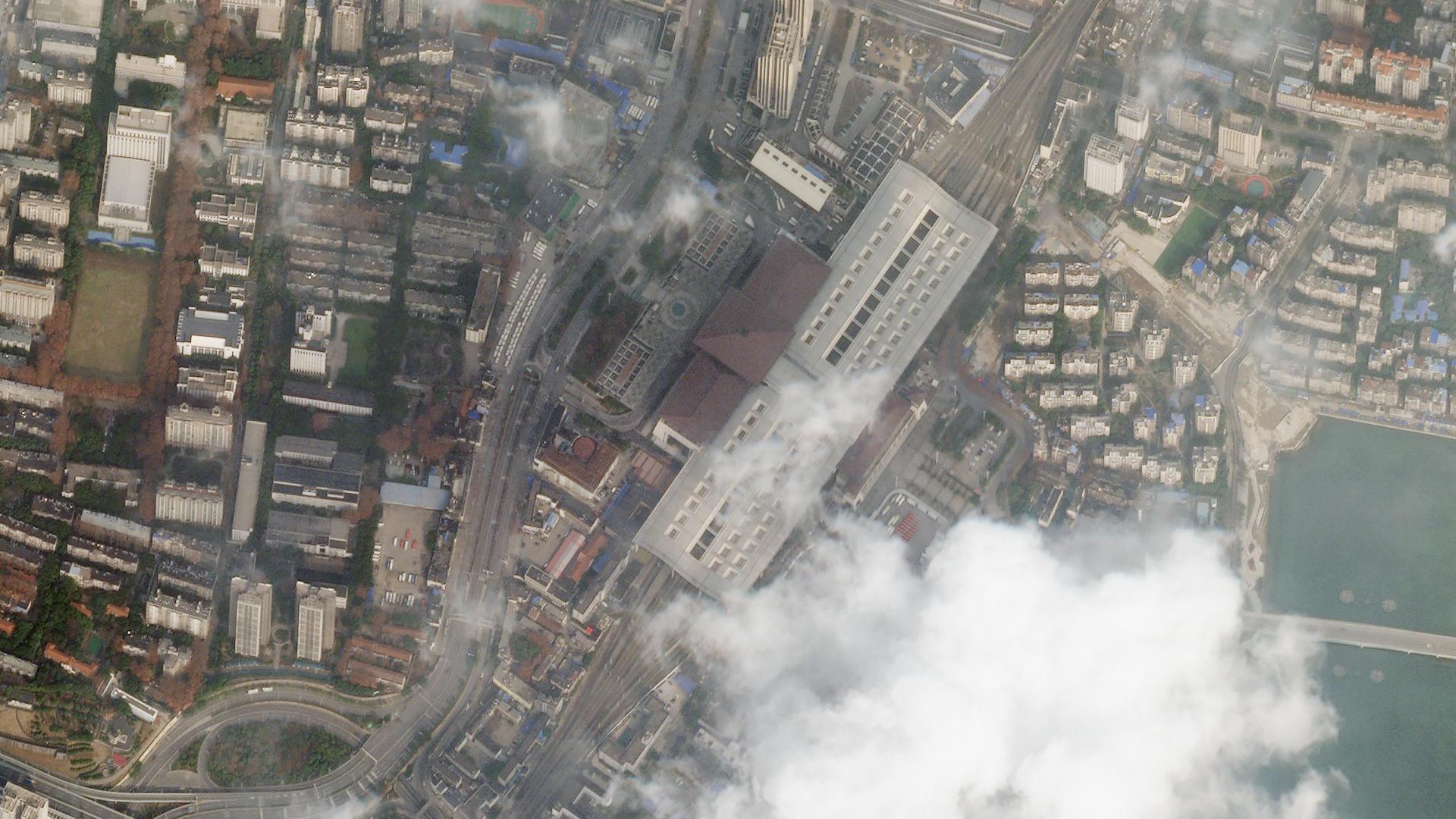 Imagini Din Satelit Cum Era Inainte și După Declanșarea Epidemiei